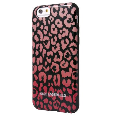 Karl Lagerfeld Coque Tpu Kamouflage Rose Pour Apple Iphone 5/5s**