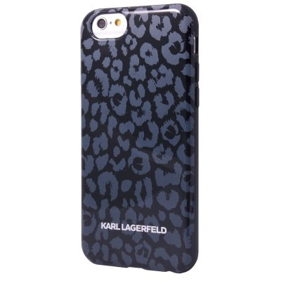 Karl Lagerfeld Coque Tpu Kamouflage Grise Pour Apple Iphone 5/5s**