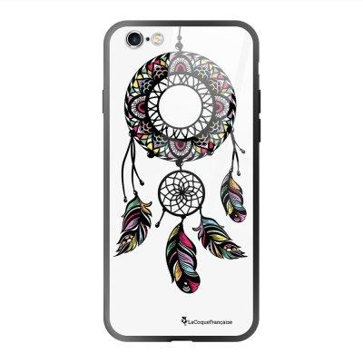 Coque en verre trempé iPhone 6 Plus /6S Plus Rêve Indien Ecriture Tendance et Design La Coque Francaise