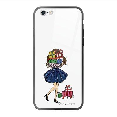 Coque en verre trempé iPhone 6 Plus /6S Plus Cadeaux de Noel Ecriture Tendance et Design La Coque Francaise