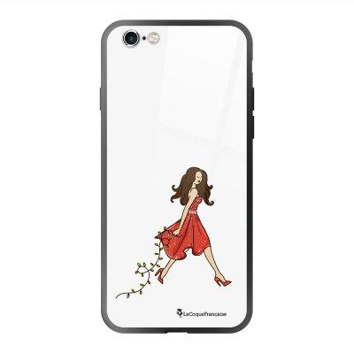Coque en verre trempé iPhone 6 Plus /6S Plus Réveillon de Noel Ecriture Tendance et Design La Coque Francaise