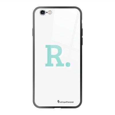Coque en verre trempé iPhone 6 Plus /6S Plus Initiale R Ecriture Tendance et Design La Coque Francaise