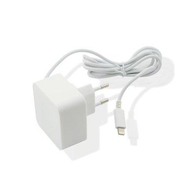 Chargeur secteur Muvit Apple Lightning MFI 1A 1.2m blanc