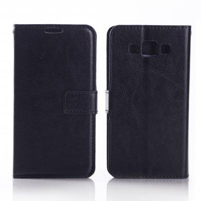 Etui livre noir pour Samsung Galaxy A7