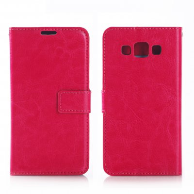 Etui livre rose pour Samsung Galaxy A7