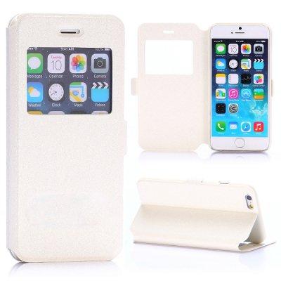 Etui livre fenêtre blanc pour Apple iPhone 6