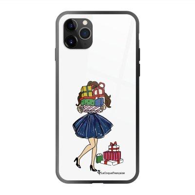 Coque en verre trempé iPhone 11 Pro Max Cadeaux de Noel Ecriture Tendance et Design La Coque Francaise