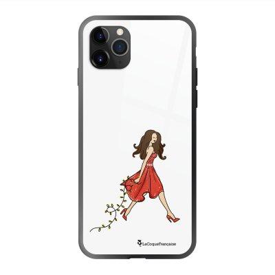 Coque en verre trempé iPhone 11 Pro Max Réveillon de Noel Ecriture Tendance et Design La Coque Francaise