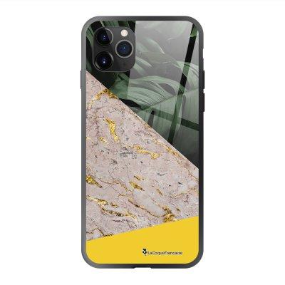 Coque en verre trempé iPhone 11 Pro Max Trio Jungle Ecriture Tendance et Design La Coque Francaise