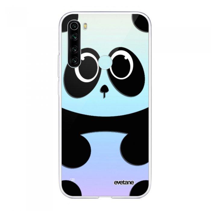 Coque Xiaomi Redmi Note 8 T souple transparente Panda Motif Ecriture Tendance Evetane