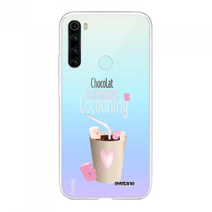 Coque Xiaomi Redmi Note 8 T souple transparente Cocooning Motif Ecriture Tendance Evetane