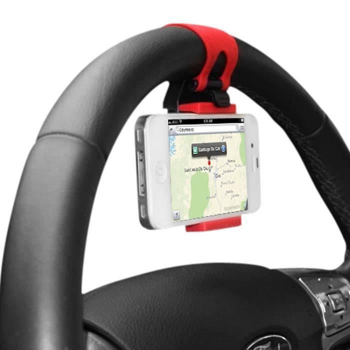 Support téléphone universel pour volant
