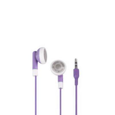 Ecouteurs violet pour iPhone 3g 3gs 4