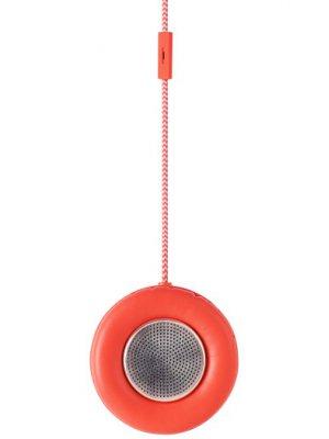 Enceinte et microphone monocle Handset corail