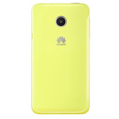 Coque Back Cover Huawei jaune pour Huawei Y330