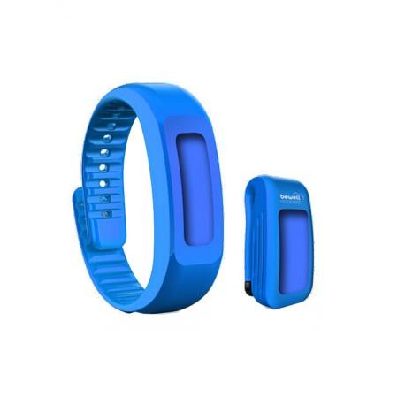 My Coach tracker bracelet et clip ceinture bleu
