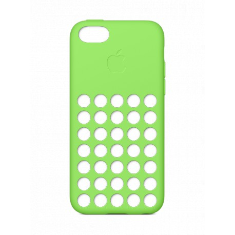 coque silicone apple verte pour apple iphone 5c