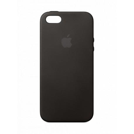 coque cuir noir apple pour apple iphone 5s