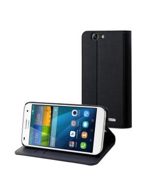 Muvit Etui Slim S Folio Noir Huawei P8