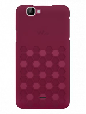 Wiko coque Clip Slim Fushia pour Wiko Rainbow 4G