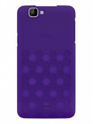 Wiko coque Clip Slim violet pour Wiko Rainbow 4G