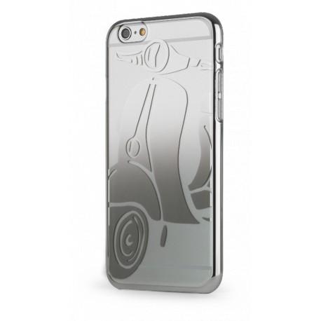 coque finition miroir design metal vespa pour apple iphone 6