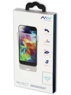 Film de protection ultra clear Myway pour Samsung Galaxy S5