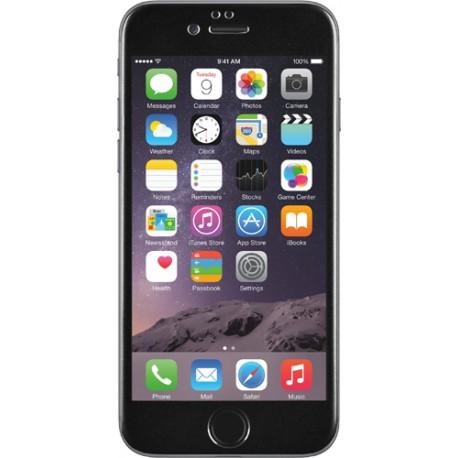 Protège écran en verre trempé BigBen contour noir pour Apple iPhone 6
