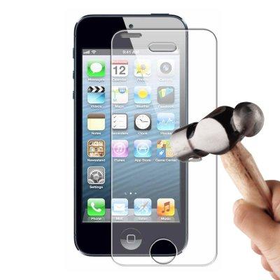 Vitre protectrice avant verre trempé iPhone 5/5S/5C