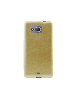 Coque souple Jelly dorée pour Samsung Galaxy Grand Prime