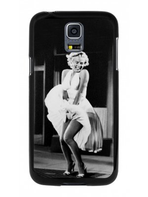 Moxie coque rigide noire Marilyne pour Samsung Galaxy S5 mini