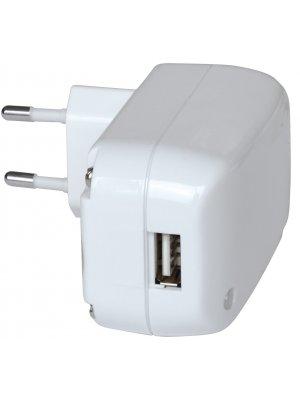 Brennenstuhl chargeur secteur compact blanc norme Européenne CE avec entrée USB 2100mAh