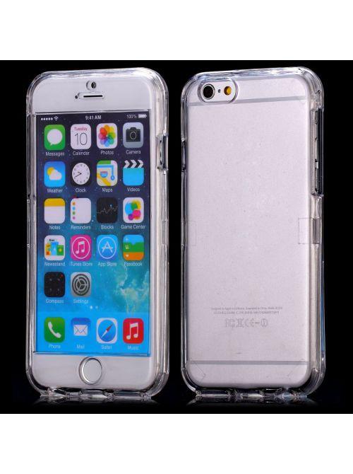 coque crystal rigide avant arriere pour apple iphone 6 plus