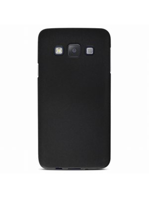 Mocca coque gel frost noire pour Samsung Galaxy A3