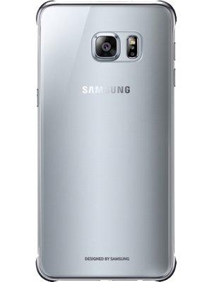 Coque rigide Samsung transparente et argentée pour Samsung Galaxy S6 Edge Plus