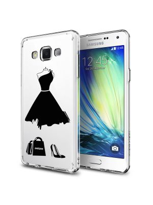 Coque crystal My little Black Dress pour Samsung Galaxy Grand Prime