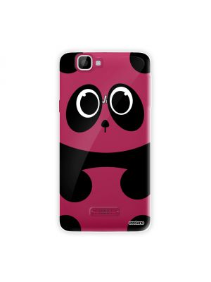 Coque crystal Panda pour Wiko Rainbow