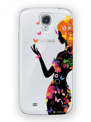 Coque crystal Silhouette Color pour Samsung Galaxy S4