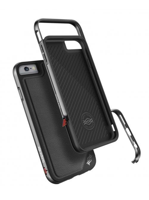 xdoria coque defense lux cuir noir apple iphone 6 plus et iphone 6s plus