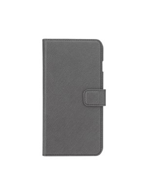 Xqisit Etui Folio Wallet Viskan gris pour Apple iPhone 6 Plus et 6S Plus