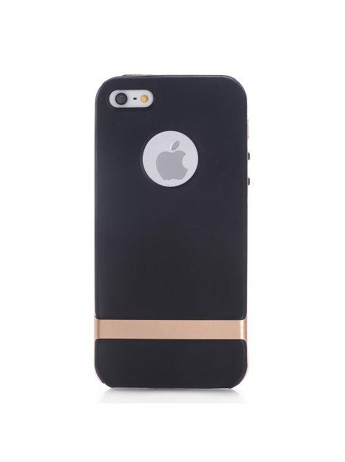 Coque iPhone 5/5s Noir et doré