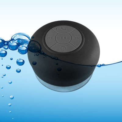 Enceinte waterproof - 3 W  Noir