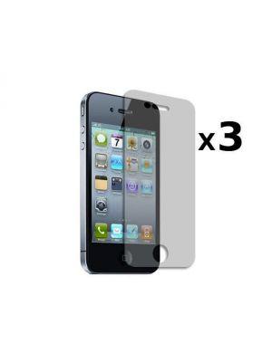3 films protecteurs iPhone 4/4s