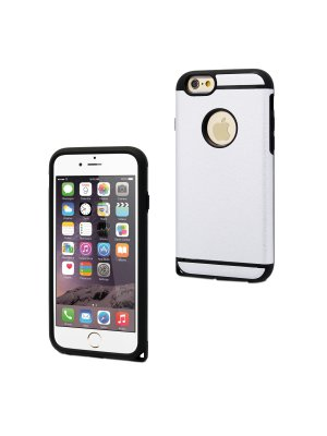 Muvit Coque Shockproof Silver Apple Iphone 6/6s