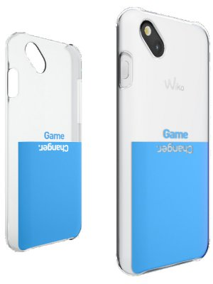 Wiko Coque Wiko Game Changer bleu pour Wiko Sunset 2