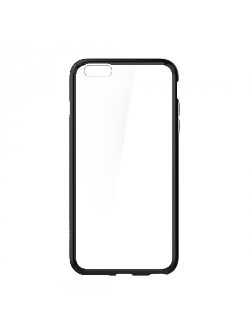 spigen coque spigen ultra hybrid transparent noir pour apple iphone 6 plus et 6s plus