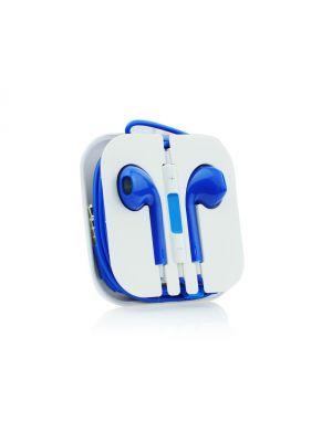 Kit mains libres avec micro intégré iPhone - Bleu