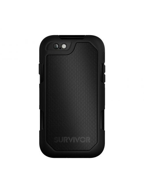 griffin coque survivor summit ultra resistante noir en polycarbonate pour iphone 6 plus et 6s plus