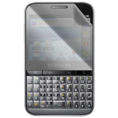 Lot de 2 Protege ecrans pour Samsung Galaxy Pro B7510  1 transparent et 1 miroir