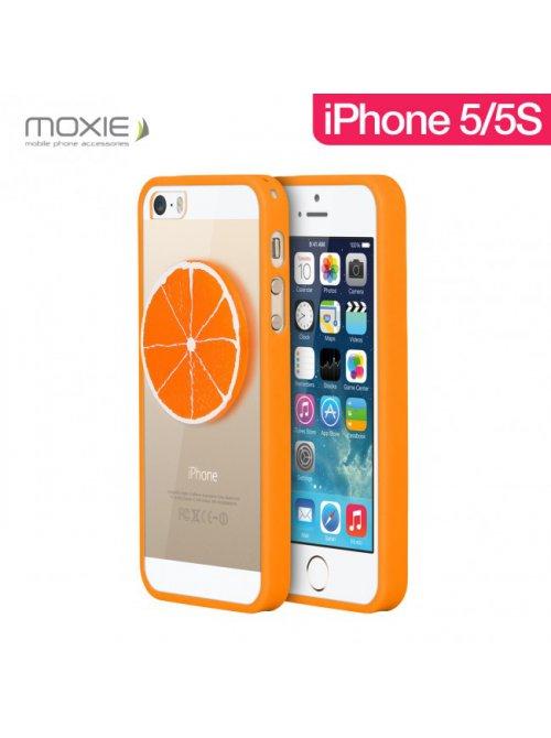 Coque Moxie 3D Fruits Orange pour iPhone 5 et iPhone 5S